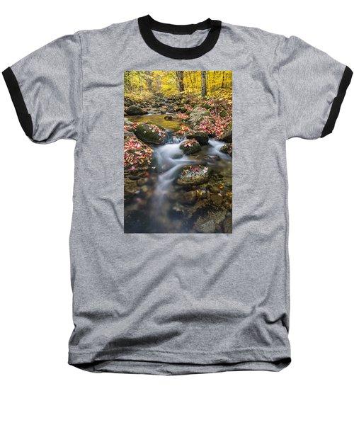 Foliage Brook Baseball T-Shirt