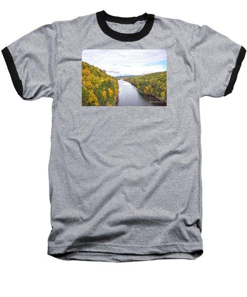 Foliage Clouds Baseball T-Shirt