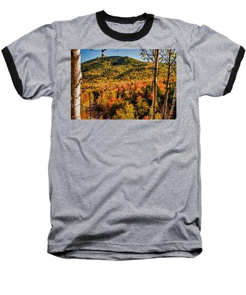 Foliage View From Crawford Notch Road Baseball T-Shirt