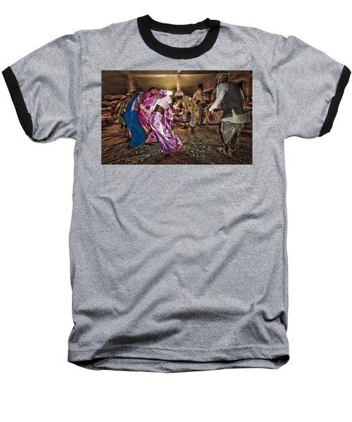 Folk Dance Baseball T-Shirt by Hitendra SINKAR