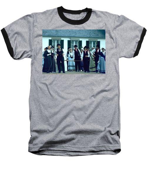 Folk Music Baseball T-Shirt