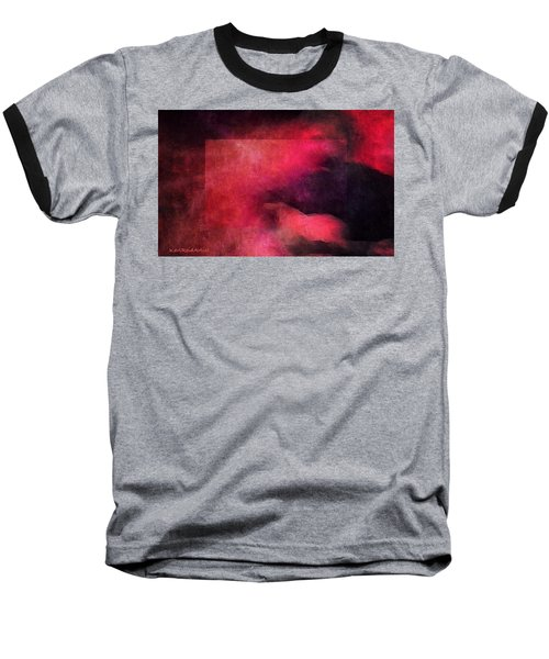 Folk Singer Baseball T-Shirt by Karl Reid