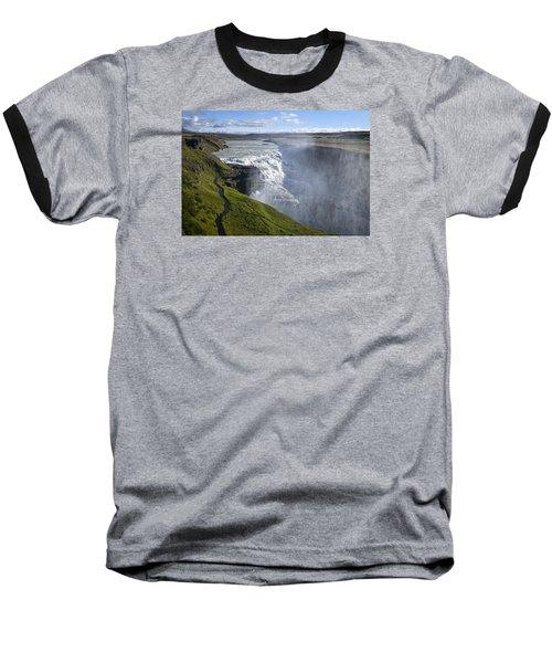 Follow Life's Path Baseball T-Shirt by Lucinda Walter