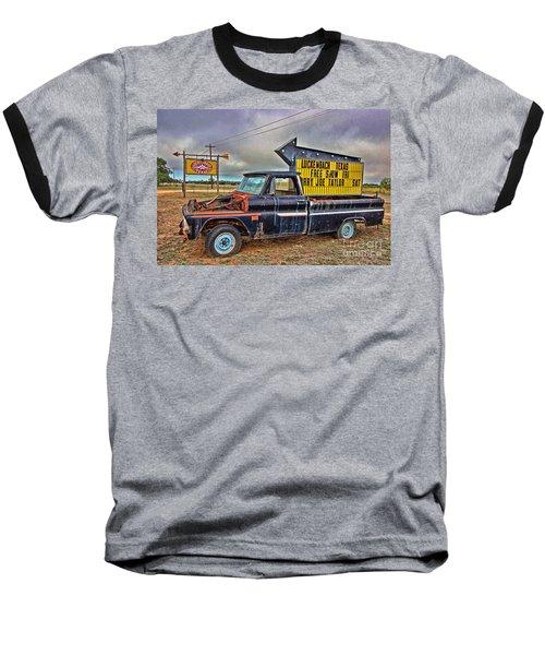 Follow Me To Luckenbach Baseball T-Shirt