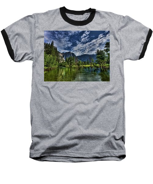 Follow The River Baseball T-Shirt