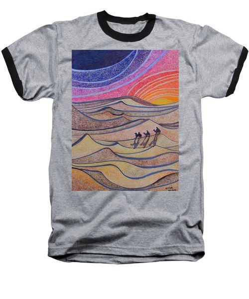 Follow The Star   Baseball T-Shirt