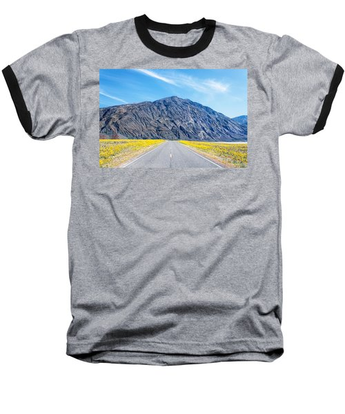 Follow The Yellow Lined Road Baseball T-Shirt