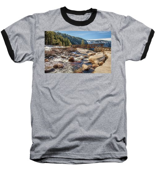 Following The Falls Baseball T-Shirt