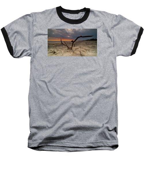 Sun Dragon  Baseball T-Shirt by Robert Loe