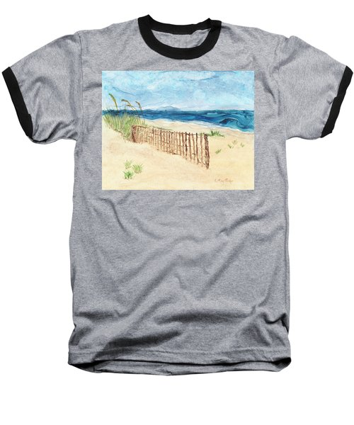 Folly Field Fence Baseball T-Shirt
