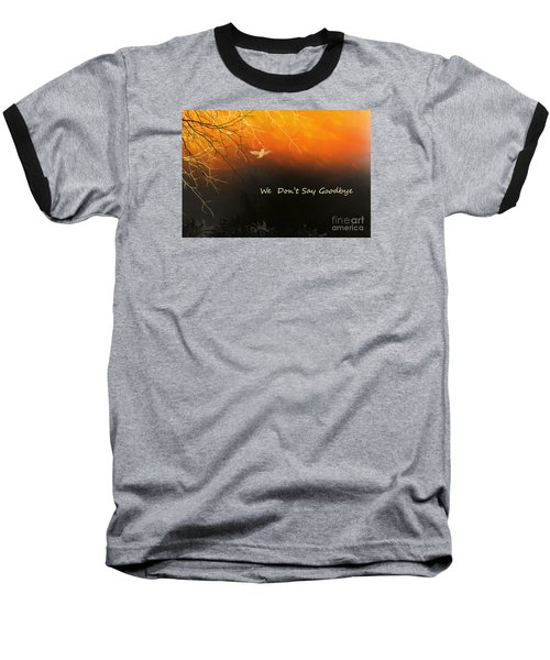 Baseball T-Shirt featuring the digital art Fond Thoughts by Trilby Cole