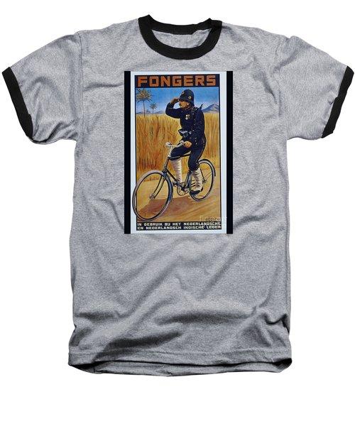 Fongers In Gebruik Bil Nederlandsche En Nederlndsch Indische Leger Vintage Cycle Poster Baseball T-Shirt