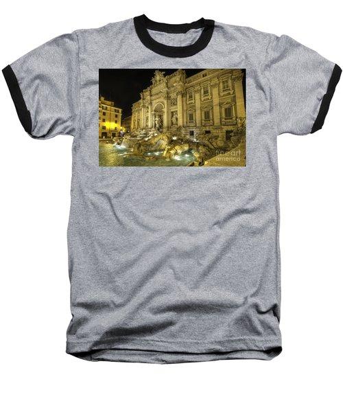 Fontana Di Trevi 1.0 Baseball T-Shirt
