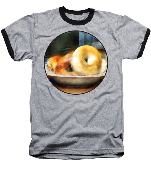 Food - Bagels For Sale Baseball T-Shirt
