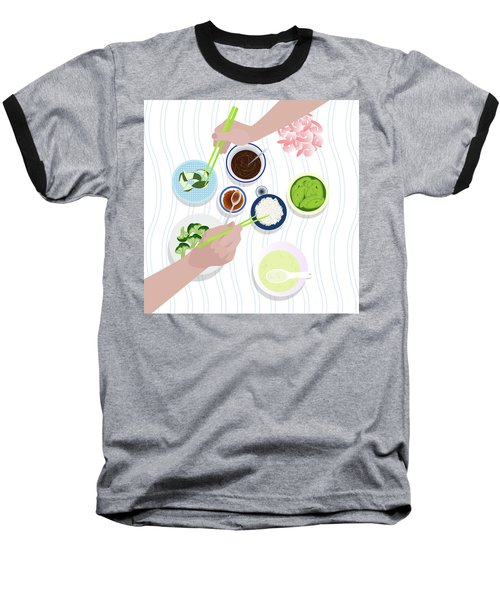 Food Baseball T-Shirt