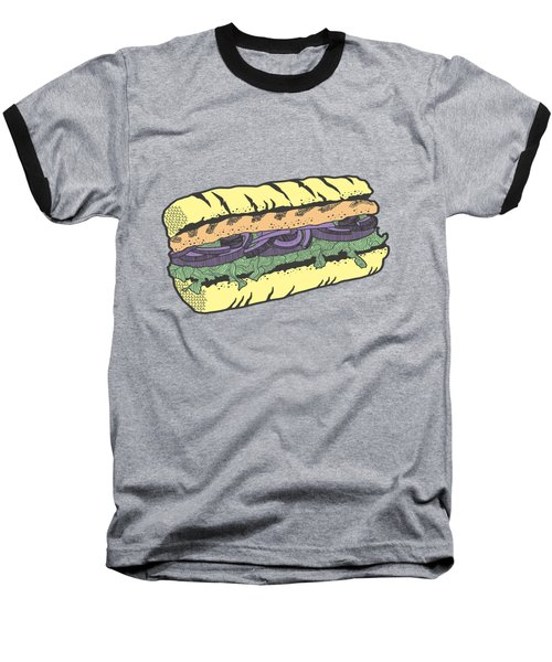 Food Masquerade Baseball T-Shirt