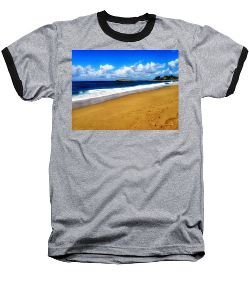 Foot Prints  Baseball T-Shirt