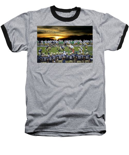 Football Field-notre Dame-navy Baseball T-Shirt
