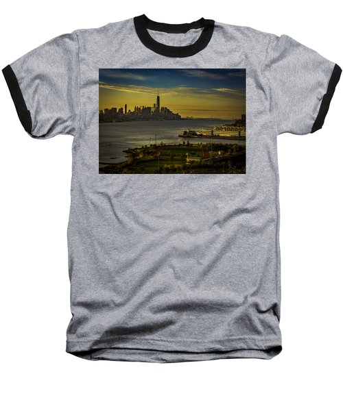 Football Field With A View Baseball T-Shirt