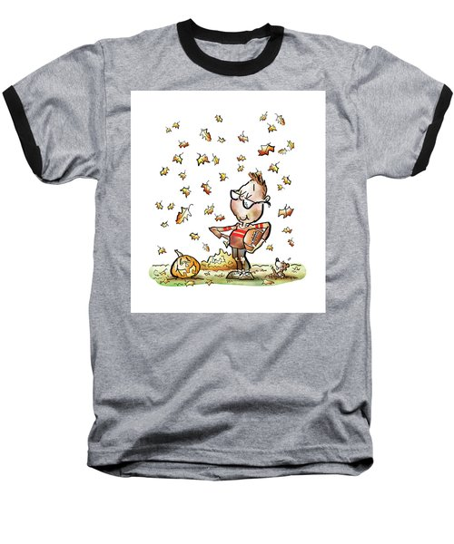 Football Hero Baseball T-Shirt
