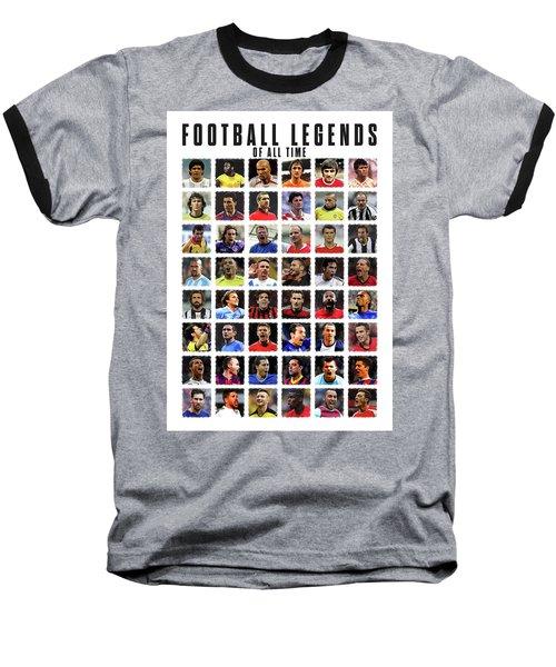 Football Legends Baseball T-Shirt