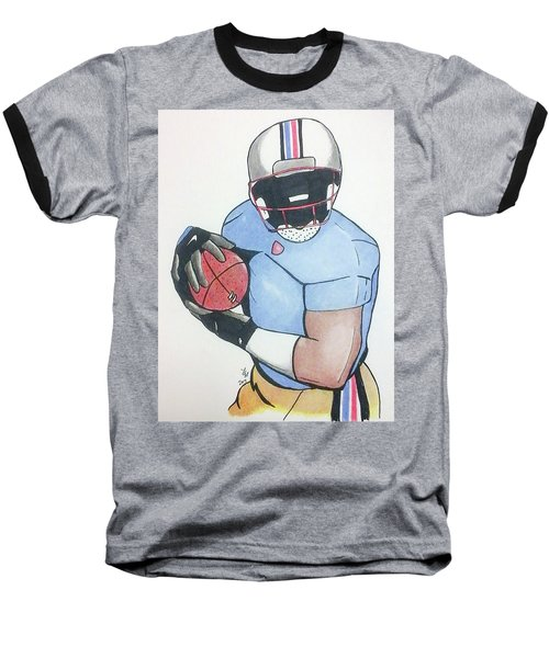 Football Player Baseball T-Shirt