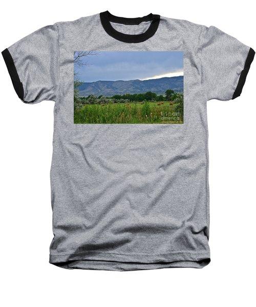 Foothills Of Fort Collins Baseball T-Shirt