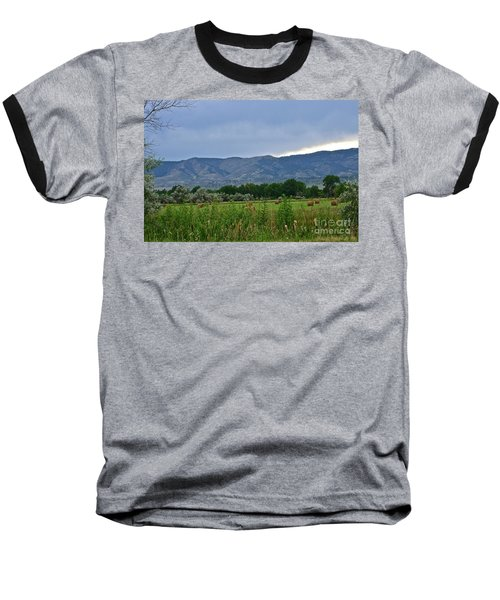 Foothills Of Fort Collins Baseball T-Shirt