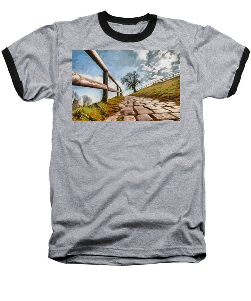 Baseball T-Shirt featuring the photograph Footpath by Sergey Simanovsky