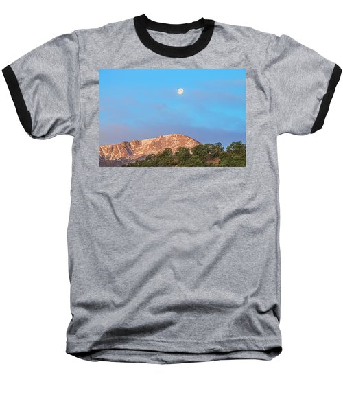For God So Loved The World That He Created Mountains.  Baseball T-Shirt