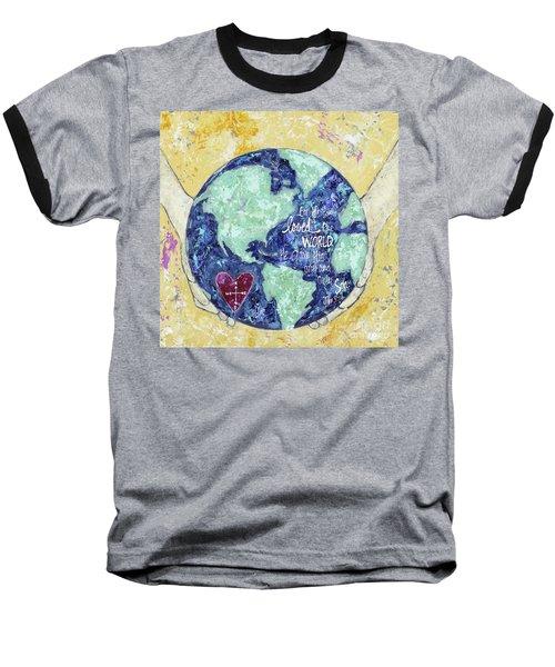 For He So Loved The World Baseball T-Shirt