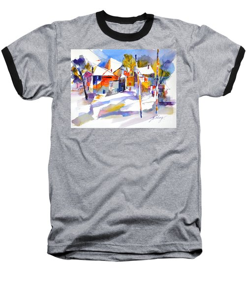 For Love Of Winter #2 Baseball T-Shirt by Betty M M Wong