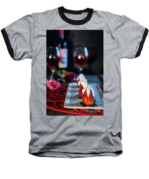 Baseball T-Shirt featuring the photograph For My Sweetheart by Deborah Klubertanz