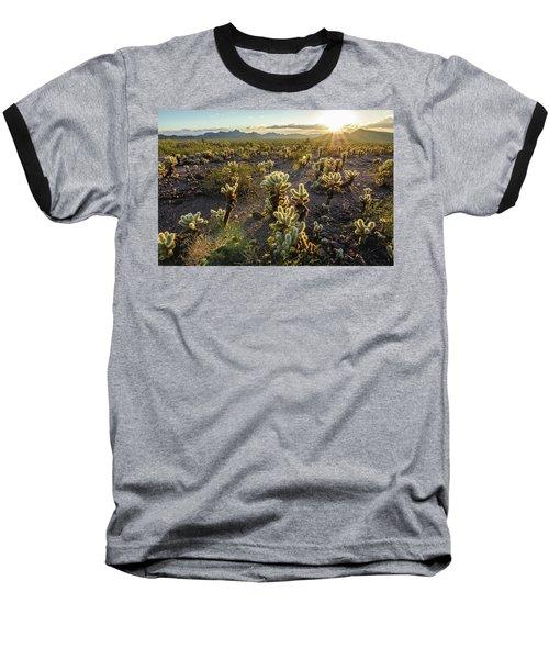 Sea Of Cholla Baseball T-Shirt