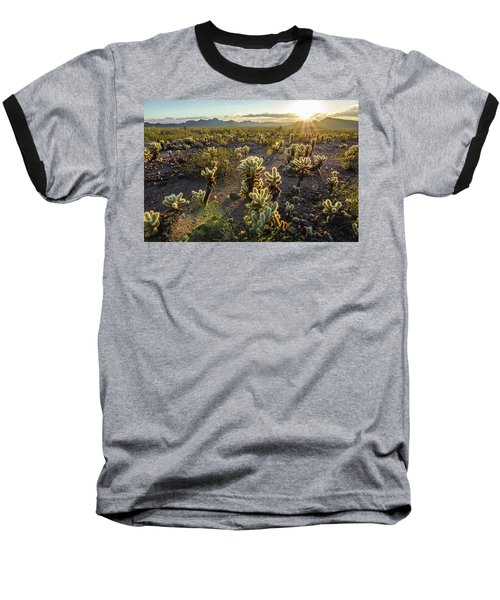 Baseball T-Shirt featuring the photograph Sea Of Cholla by Margaret Pitcher