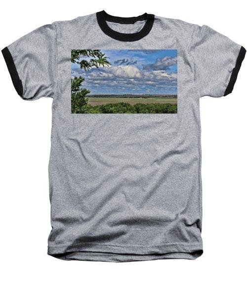 For Spacious Skies Baseball T-Shirt by Sylvia Thornton