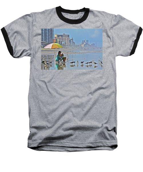 For The Birds Baseball T-Shirt