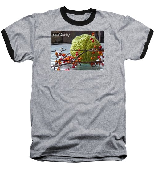 Baseball T-Shirt featuring the photograph For The Birds by Lyric Lucas