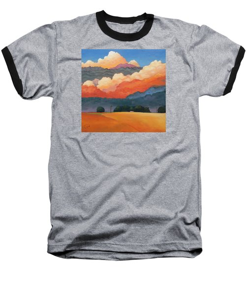For The Love Of Clouds Baseball T-Shirt by Gary Coleman