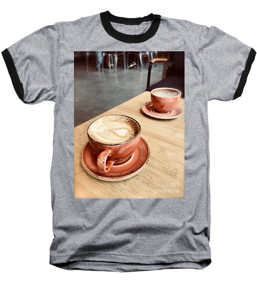 For The Love Of Coffee Baseball T-Shirt