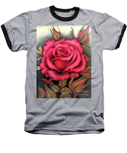 For You, The Red Rose Baseball T-Shirt