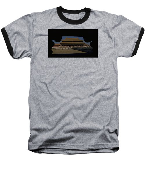 Forbidden City, Beijing Baseball T-Shirt by Travel Pics