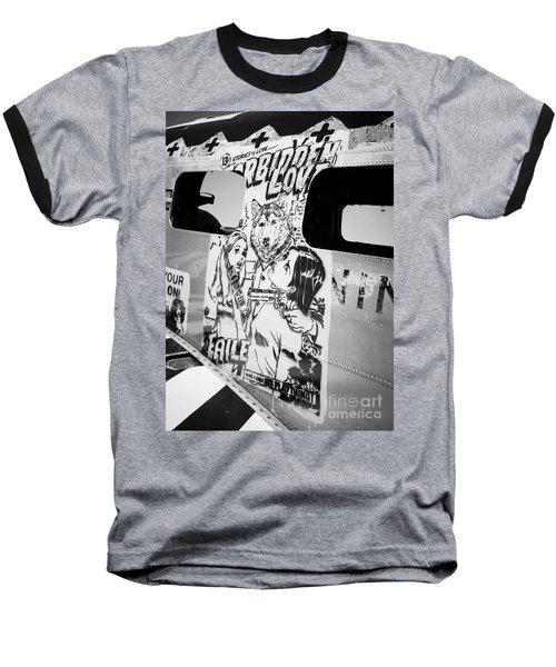 Baseball T-Shirt featuring the photograph Forbidden Love by Chris Dutton