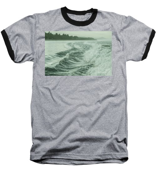 Forces Of The Ocean Baseball T-Shirt by Iris Greenwell