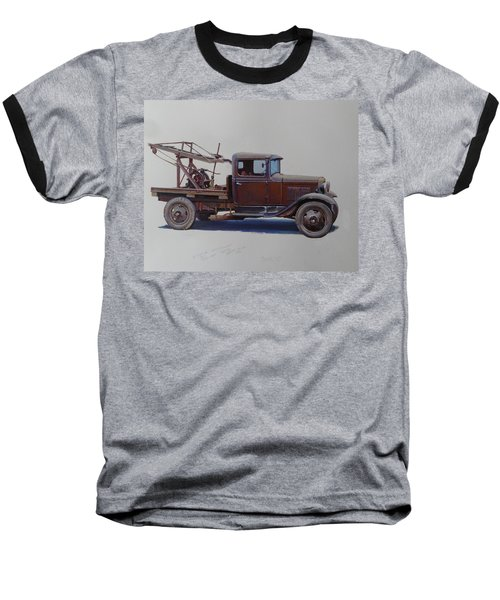 Ford A Type Wrecker. Baseball T-Shirt by Mike  Jeffries