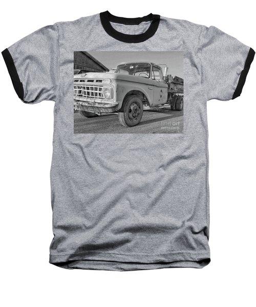 Ford F-150 Dump Truck Bw Baseball T-Shirt