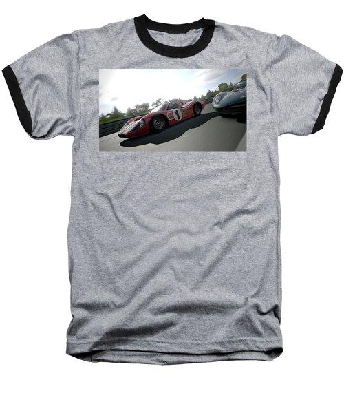 Ford Gt40 Mark Iv Baseball T-Shirt