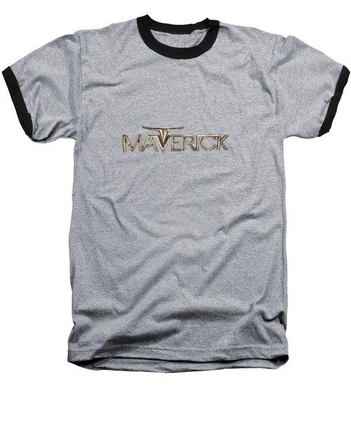 Ford Maverick Badge Baseball T-Shirt by YoPedro