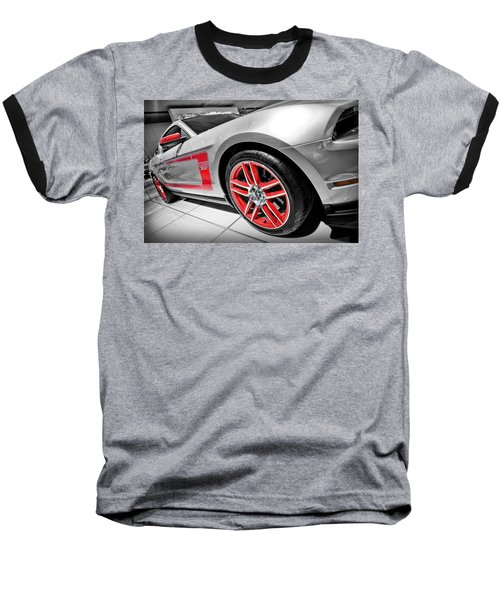 Ford Mustang Boss 302 Baseball T-Shirt by Gordon Dean II