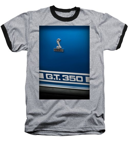 Ford Mustang G.t. 350 Cobra Baseball T-Shirt by Gordon Dean II